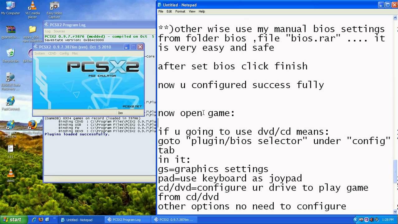 download pcsx2+bios+plugins+fully configured