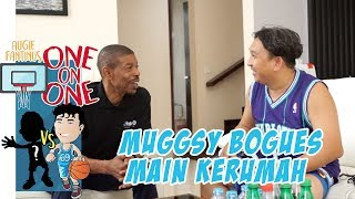 Muggsy Bogues Main Kerumah, Ngapain Aja Sih Selain One on One?!