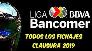 TODAS las ALTAS y BAJAS de los 18 EQUIPOS en la LIGA MX torneo CLAUSURA 2019