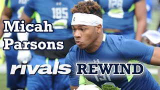 Micah Parsons - Penn State Nittany Lions (RIVALS REWIND)