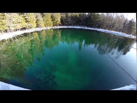 "Visiting Kitch-Iti-Kipi ""Big Springs"" In Winter, Michigan's Upper Peninsula 4K HD | Jason Asselin"
