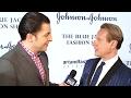Carson Kressley at the Blue Jacket Fashion Show with Arthur Kade