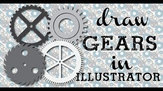 Make Steampunk Gears in Illustrator - Turn Simple Shapes into Complex Cogs & Gears