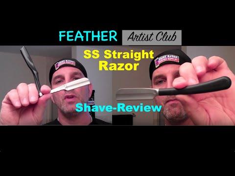Feather Artist Club SS Straight Razor-Shop at ShaveNation.com