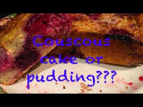 SW Couscous Cake Or Pudding Recipe With Speedy Fruit Only 1 Syn.