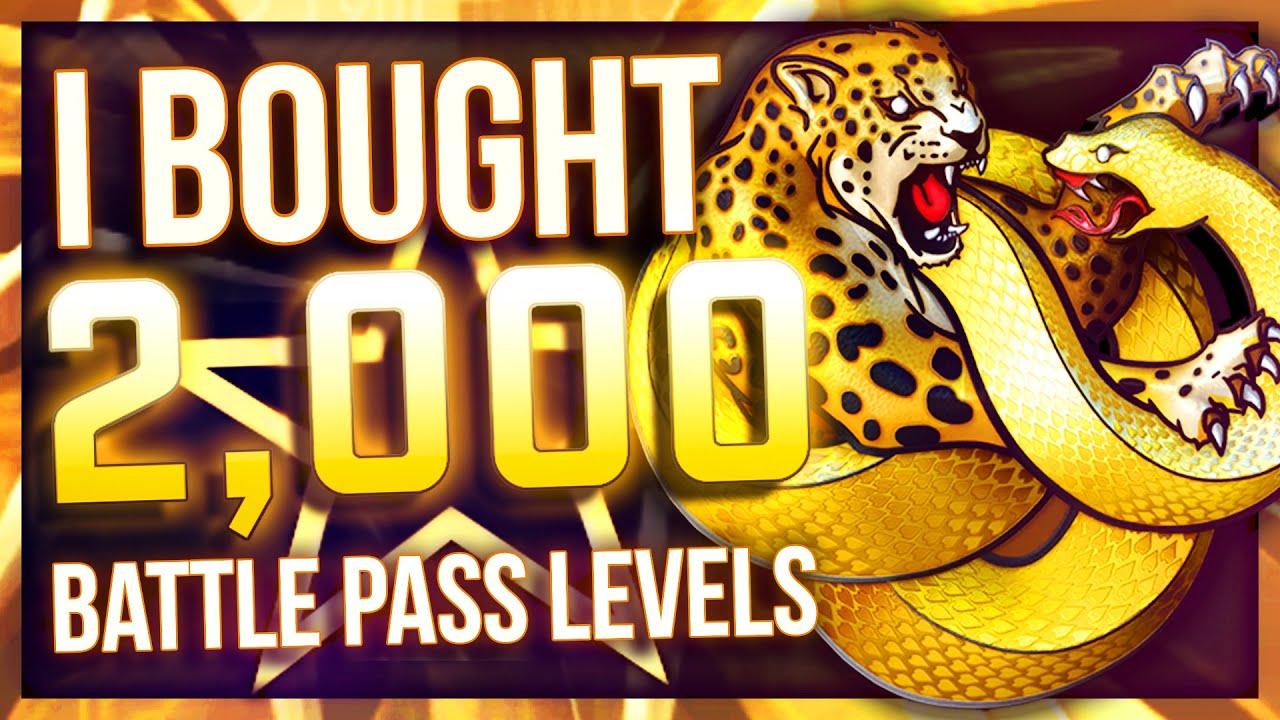 I BOUGHT 2000 BATTLE PASS LEVELS (BIG PROFIT?!)