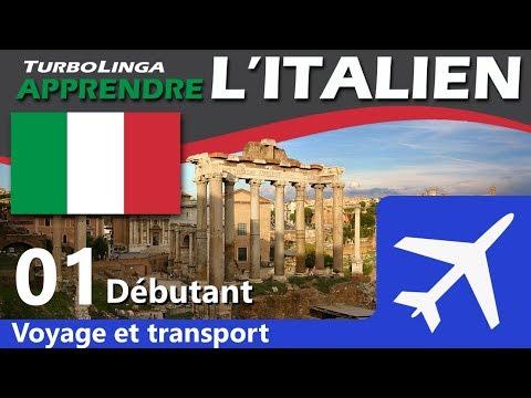 Apprendre l'italien pour débutants - Voyages et transport 01