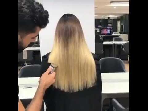 Cara Memotong Rambut Wanita Ala Profesional Youtube