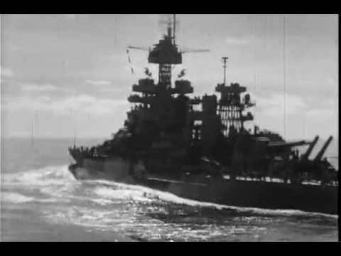 Zerstörer der Fletcher Klasse im Pazifik Einsatz