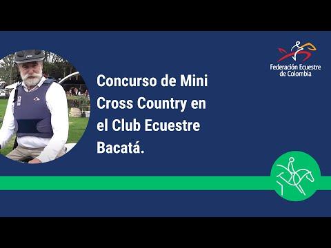 Concurso de Mini Cross Country en el Club Ecuestre Bacatá.
