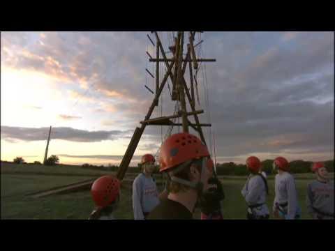 Nebraska Volleyball Rope Challenge