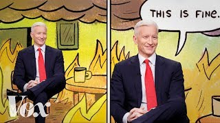 "The ""this is fine"" bias in cable news"