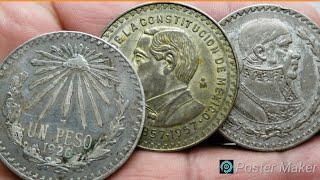 SI LAS TIENES CHECA ESTO VALEN. monedas antiguas mexicanas