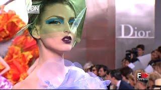 CHRISTIAN DIOR Fall Winter 2010 2011 Haute Couture Paris   Fashion Channel