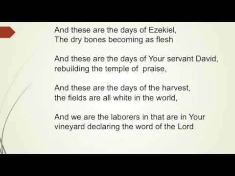 Days of Elijah - Donnie McClurkin (Lyric Video)