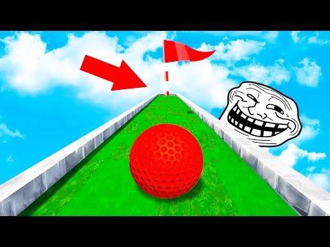 В ЧЕМ ПОДВОХ? ЭТО НЕВОЗМОЖНО ПРОЙТИ! БЕШЕНАЯ КАРТА С НЕПРОХОДИМЫМИ ЛУНКАМИ В ГОЛЬФ ИТ (Golf It)