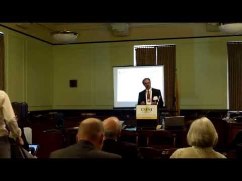 CSINJ - Wardell Sanders, Healthcare Summit 2013 (Part 1/2)