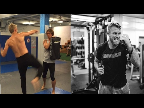"Alexander ""The Mauler"" Gustafsson training 2017"