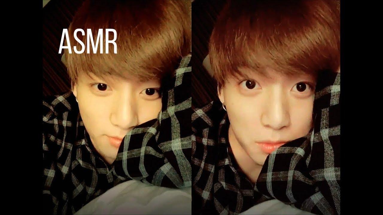 🌙 Jungkook ASMR || playful BTS boyfriend singing you to sleep || YOU TALK  BACK!! 💧