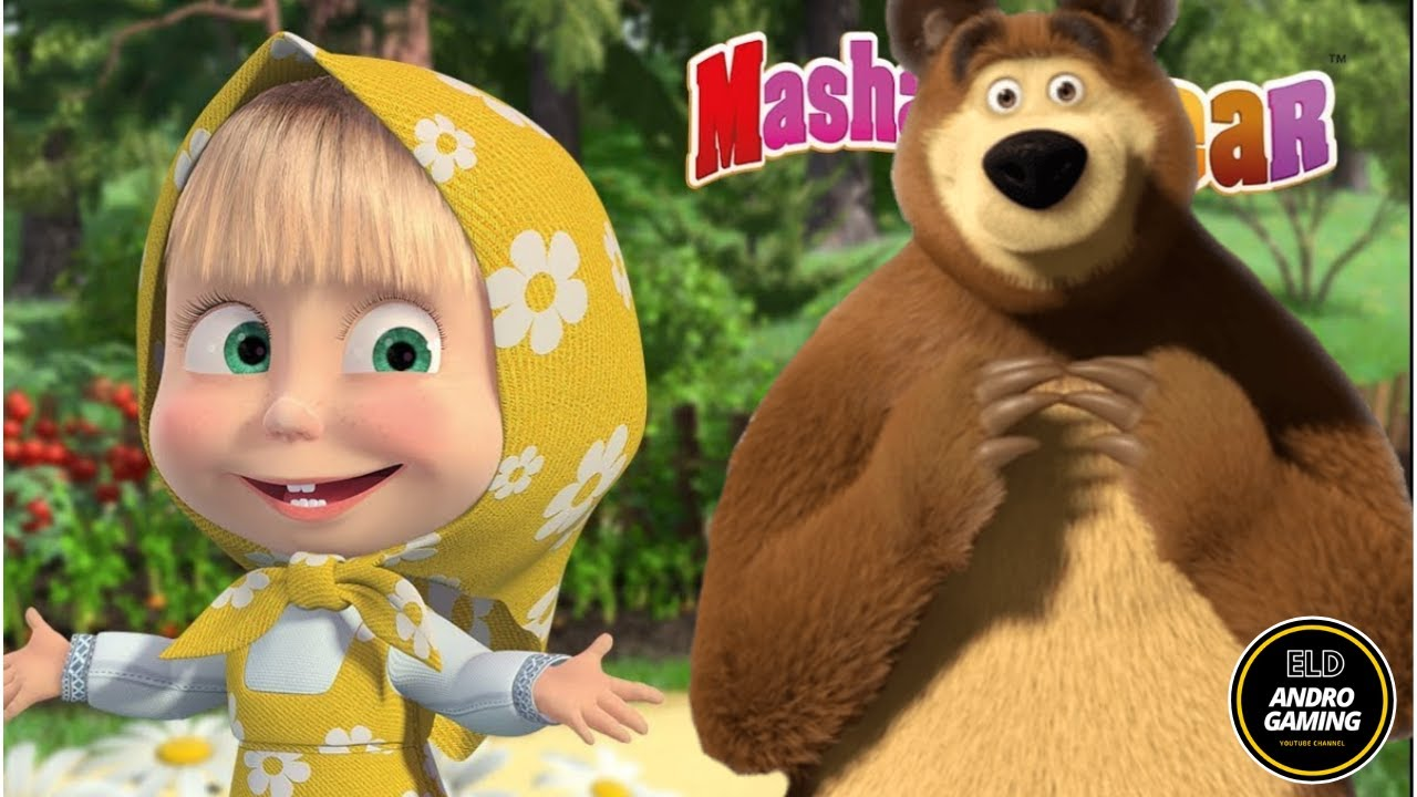 Masha And The Bear Hunting Catch Rabbits And Wolves - Masha Playing Music And Driving A Plane