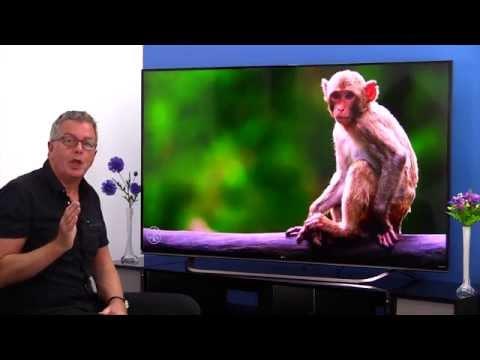 LG 65UF860V 4K Ultra HD LED TV (YouTube 4k setting)