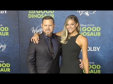 "A.J. Buckley & Abigail Ochse ""The Good Dinosaur"" World Premiere in Los Angeles"