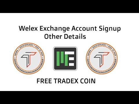 Welex Exchange Signup, Login & Details    Worlds Leading Cryptocurrency Exchange