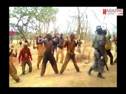 """Agentes da """"Policia"""" de Intervenção Rápida torturam garimpeiros nas minas de Rubi em Cabo Delgado"""