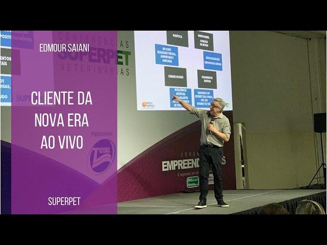AO VIVO: Cliente da Nova Era | Edmour Saiani