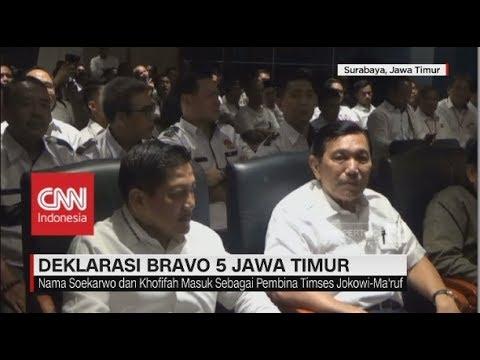 Nama Soekarwo & Khofifah Masuk sebagai Pembina Timses Jokowi-Ma'ruf Amin Mp3