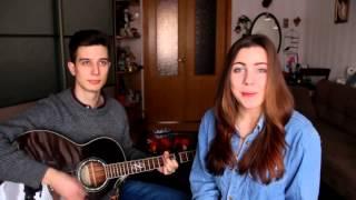 красивая девушка красиво поет/ офигенный голос/парень круто играет на гитаре