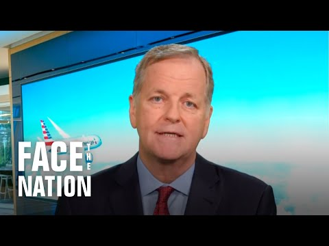 """American Airlines CEO Doug Parker on federal aid: """"We need laws, not bills"""""""