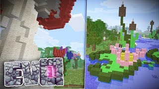 NETTY\'S COOL FLOWERS! - Minecraft Evolution SMP #53