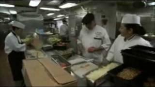 USS Reagan Below Deck: America