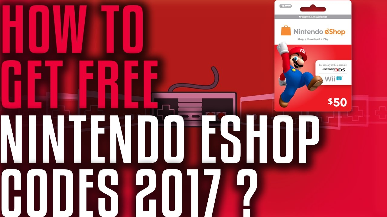 Unused 3ds points card codes - How To Get Free Nintendo Eshop Codes 2017