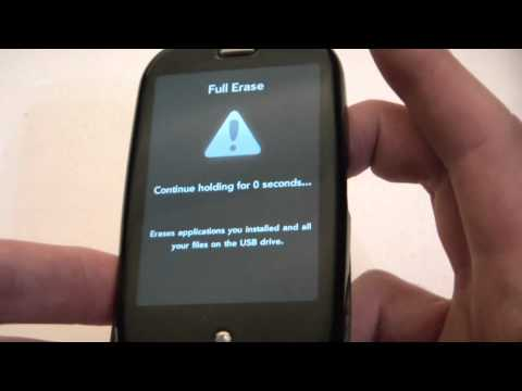 How To Hard Reset A Palm Pre SmartPhone