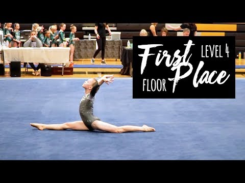 First Place Level 4 Floor Routine 9.7