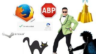 #13: Firefox pour iOS, Psy casse Youtube, reCaptcha, AdBlock en justice, Steam fait son Twitch,...