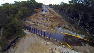 Old Madison Pike Road Construction Overflight: 02 October 14