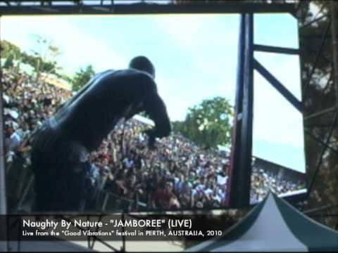 """JAMBOREE"" (LIVE) in PERTH, AUSTRALIA - Naughty By Nature"