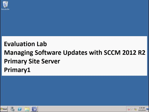 Managing Software Updates with SCCM 2012 R2 21 Configuration Manager February 2016