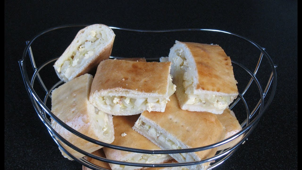 Recipe for pie with cabbage from yeast dough in the oven 55