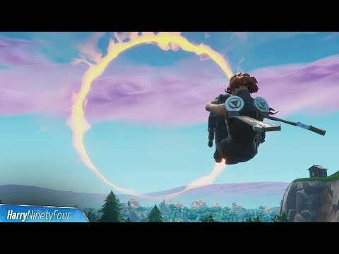 3 Easy Cannon Flaming Hoop Locations Guide -  Fortnite (Season 8 Challenge)