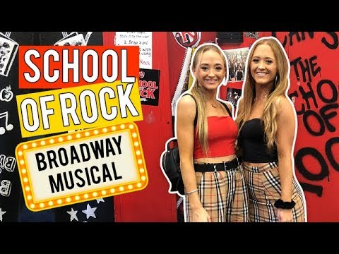 Get Ready With Us: School of Rock Musical  | The Rybka Twins