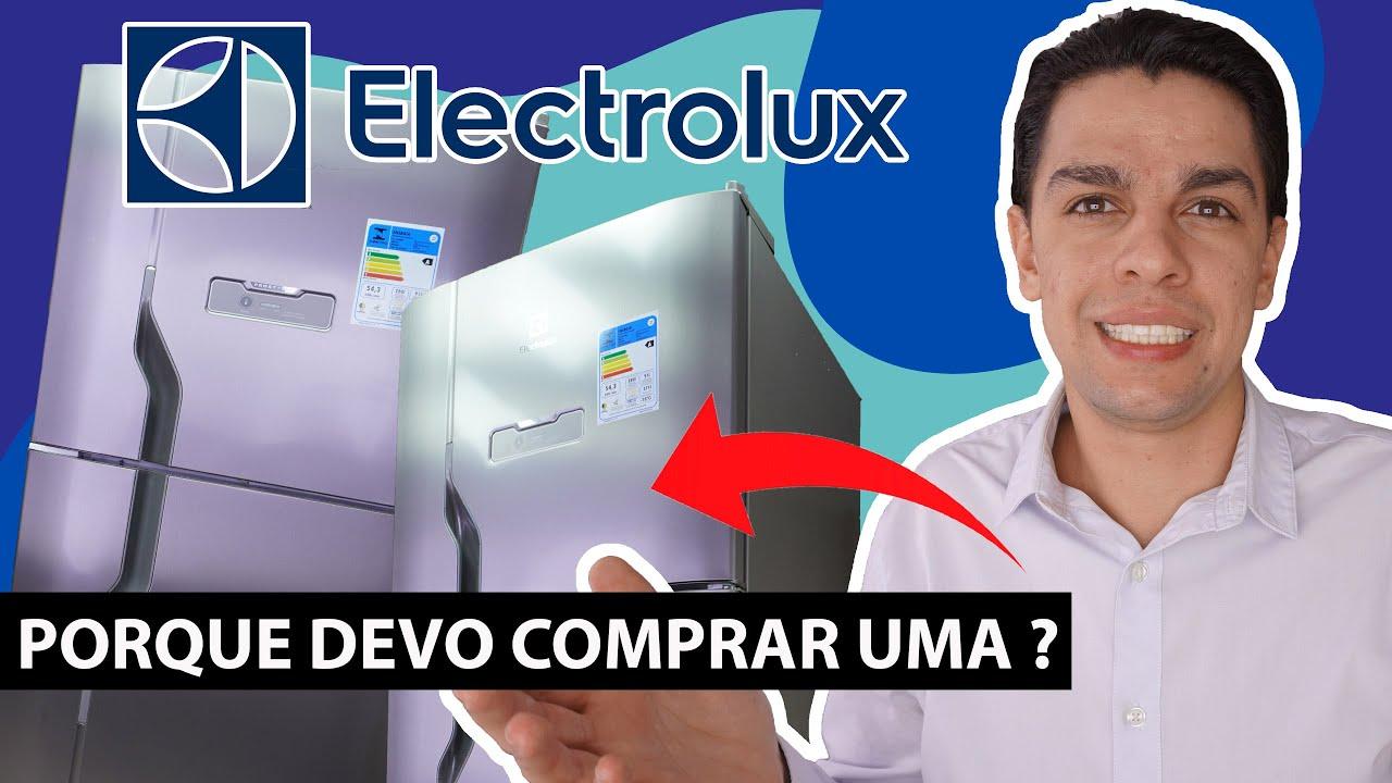 Finalmente - REVIEW/ANALISE de UM REFRIGERADOR inox BOM e BARATO - ELECTROLUX 371l DFX41 - DFN41