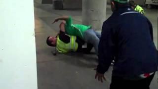 Mexico vs Venezuela y los policias de mierda hahaha
