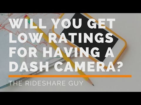 Will You Get Low Ratings For Having A Dash Camera?