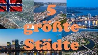 5 größte Städte- Norwegen | Nordika