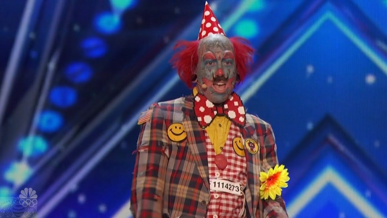 America's Got Talent 2016 Like it or Not Here Come the Clowns Full Audition Clip S11E05 #1