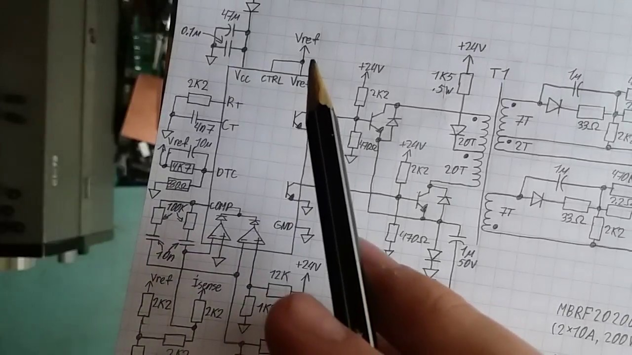 tl494 SMPS: Part 10 - Schematic - YouTube